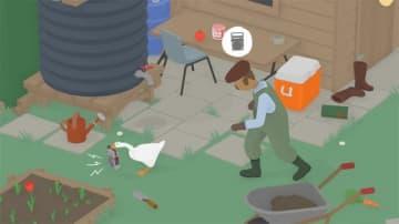 『Untitled Goose Game ~いたずらガチョウがやって来た!~』PS4版が12月17日に配信