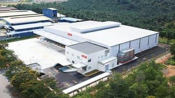 ニッコンHDがヌグリスンビラン州に建設した自社倉庫の外観(同社提供)