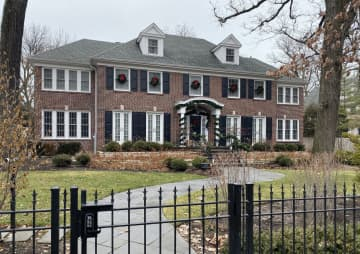 "The house featured in ""Home Alone"" seen here in 2019, is located on Lincoln Avenue in Winnetka. - Karie Angell Luc/Pioneer Press/TNS"