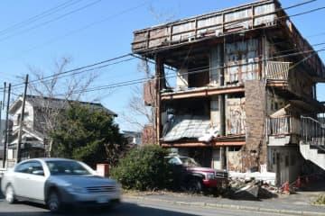 解体される予定の空き家のマンション(滋賀県野洲市野洲)