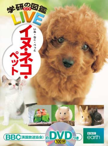 写真は、『学研の図鑑LIVE イヌ・ネコ・ペット』(学研プラス)の表紙
