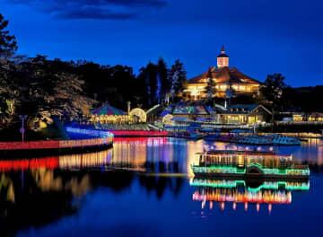 好評で期間延長!「那須りんどう湖レイクビュー」光のフェスティバルが綺麗すぎる