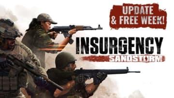 日本語対応した硬派な現代戦FPS『Insurgency: Sandstorm』無料プレイ期間&50%オフのセール!