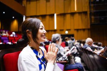 横浜・鶴見中央地域ケアプラザで「講演会」現代の子どもたちが抱える問題など