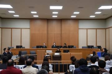 判決が言い渡された神戸地方裁判所の法廷(写真:代表撮影)