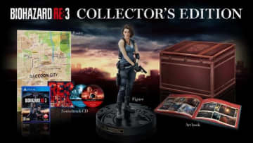 PS4向けDL版『バイオハザード RE:3』予約受付が開始、「コレクターズ エディション」などの詳細も