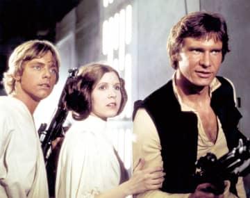 左から:ルーク、レイア、ハン