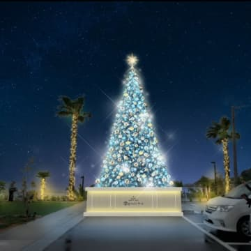 淡路島のパンケーキリゾートに巨大クリスマスツリー現る!期間限定の絶品メニュー 画像