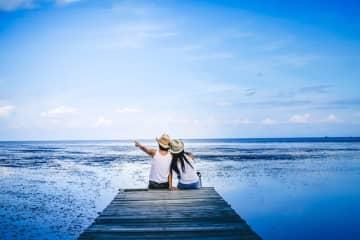 ストレス発散で一緒に旅行したいのは、男性「パートナー」女性「ひとり」 画像