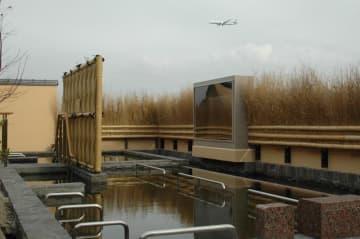 露天風呂から飛行機眺め、いい湯だな♪ 「成田空港温泉空の湯」18日オープン /芝山