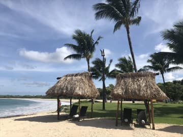 海の綺麗さで選ぶならココ!フィジー本島のナタンドラビーチ【フィジー】 画像