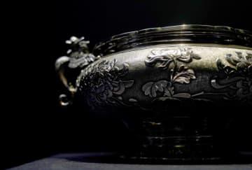 精緻な銀製品が一堂に 中国輸出用銀製品特別展開催 西安市