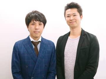 菅 岳大部長(左)と福島 毅部長