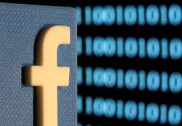 フェイスブック(FB)のロゴ(ロイター=共同)