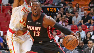 Bam Adebayo's ball-handling skills are something that sets him apart from most NBA centers. - John McCall/Sun Sentinel/TNS