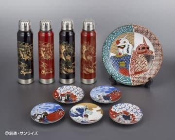 北陸の伝統工芸品と「ガンダム」の世界観が融合した逸品