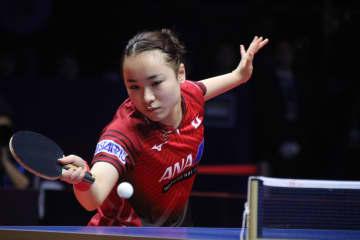 伊藤美誠、台湾エースを下して8強入り<卓球・グランドファイナル>