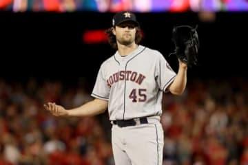 ヤンキースへの移籍が決定したゲリット・コール【写真:Getty Images】