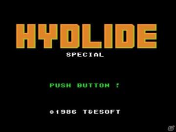 発売35周年を迎えるハイドライドシリーズの一作「ハイドライドスペシャル」がPS Vita/PS3/PSP向けに配信!