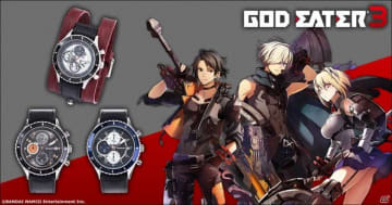 「ゴッドイーター3」主人公の腕輪をモチーフにした腕時計などアパレルグッズが多数登場!