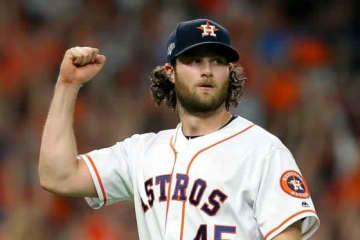 ヤンキースと契約合意したゲリット・コール【写真:Getty Images】
