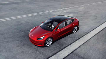 The Model 3 was named the year's best electric vehicle by Edmunds. - Tesla/Tesla/TNS