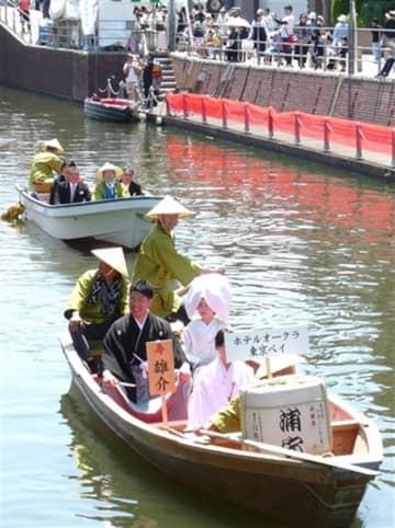 「嫁入り舟」カップル募る 来年5月、浦安でイベント