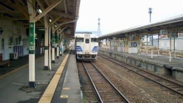突然頭上に架線が 晩夏鉄道旅顛末記31【50代から始めた鉄道趣味】177