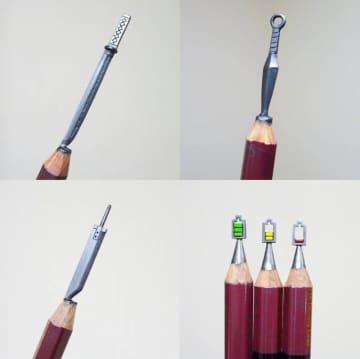 シロイ/鉛筆彫刻人さん提供