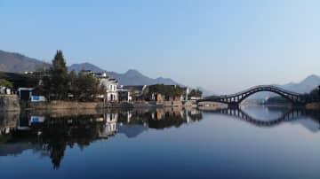 冬の竜川村を訪ねて 安徽省績渓県