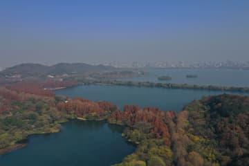 冬景色に感動!心癒される西湖 浙江省杭州市