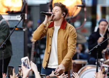 Niall Horan performs on the 'Today' show