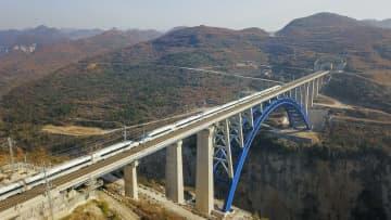成都と貴陽を結ぶ高速鉄道が全線開通