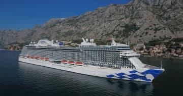 The Sky Princess in Kotor, Montenegro. - Princess Cruises/TNS/TNS