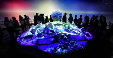 Guests can preview changes coming to Epcot with a multimedia demonstration at the theme park. - Joe Burbank/Orlando Sentinel/Orlando Sentinel
