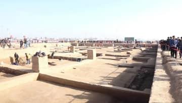 「商鞅の変法」の櫟陽城遺跡、初めて一般公開 陝西省
