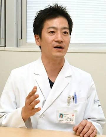 「気になることがあれば医療機関を受診してほしい」と話す江口医師