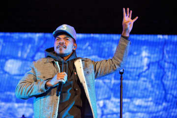 Chance The Rapper in concert on May 2, 2017 at Red Rocks, Morrison, Colo. Chance the Rapper has canceled his previously postponed 2020 tour. - Marshall/Rex Shutterstock/Zuma Press/TNS