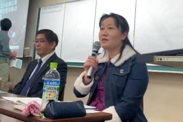 五十嵐弘志さん(左)、中谷こずえさん(弁護士ドットコムニュース撮影、12月15日、東京都内)