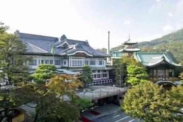 クラシカルな建物が並ぶ富士屋ホテル(同ホテル提供)