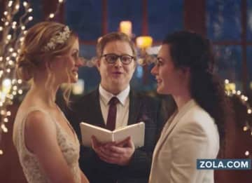 Hallmark Apologizes For Pulling Ad Featuring Same-Sex Wedding