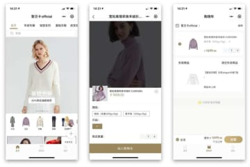 Youzan provides a platform for brands and influencers to sell through WeChat mini-programs (Screenshots: WalktheChat)
