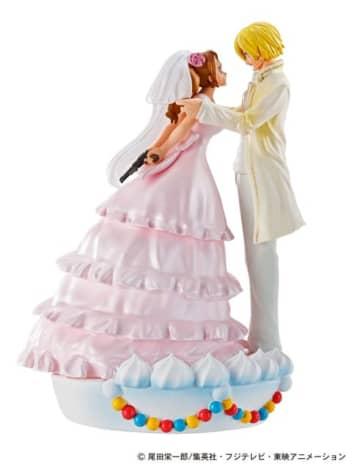 """「ワンピース」サンジの結婚式も!""""ホールケーキアイランド""""編ジオラマフィギュア化"""