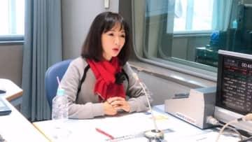 ラジオ番組で今回が最後となるKOBE MEETINGへの想いを語る平松愛理(ラジオ関西)