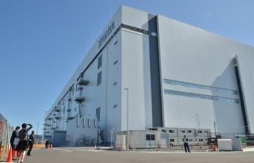 北上市内に完成したキオクシアの新工場