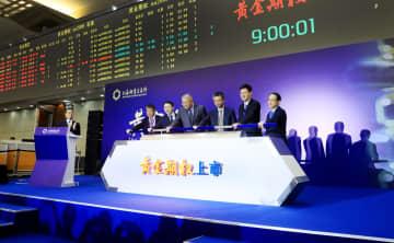 中国初の貴金属オプション商品、上海に上場