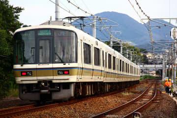 大和路快速221系がすべて8両化、大阪環状線内が8両で統一 わかりやすい乗車位置に