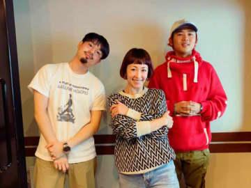 (左から)ハマ・オカモトさん、木村カエラ、オカモトレイジさん