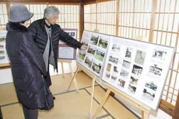 来年の延養亭復元60周年を記念したパネル展