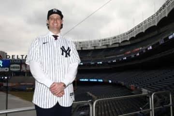 MLB投手史上最高額の契約が話題となったヤンキースのゲリット・コール【写真:Getty Images】